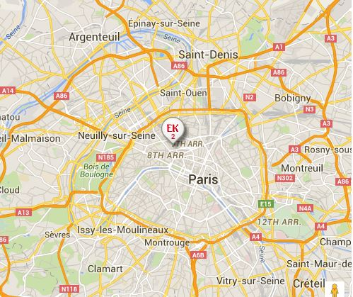 Franceparismap AirlinesAirports - Paris map 2016