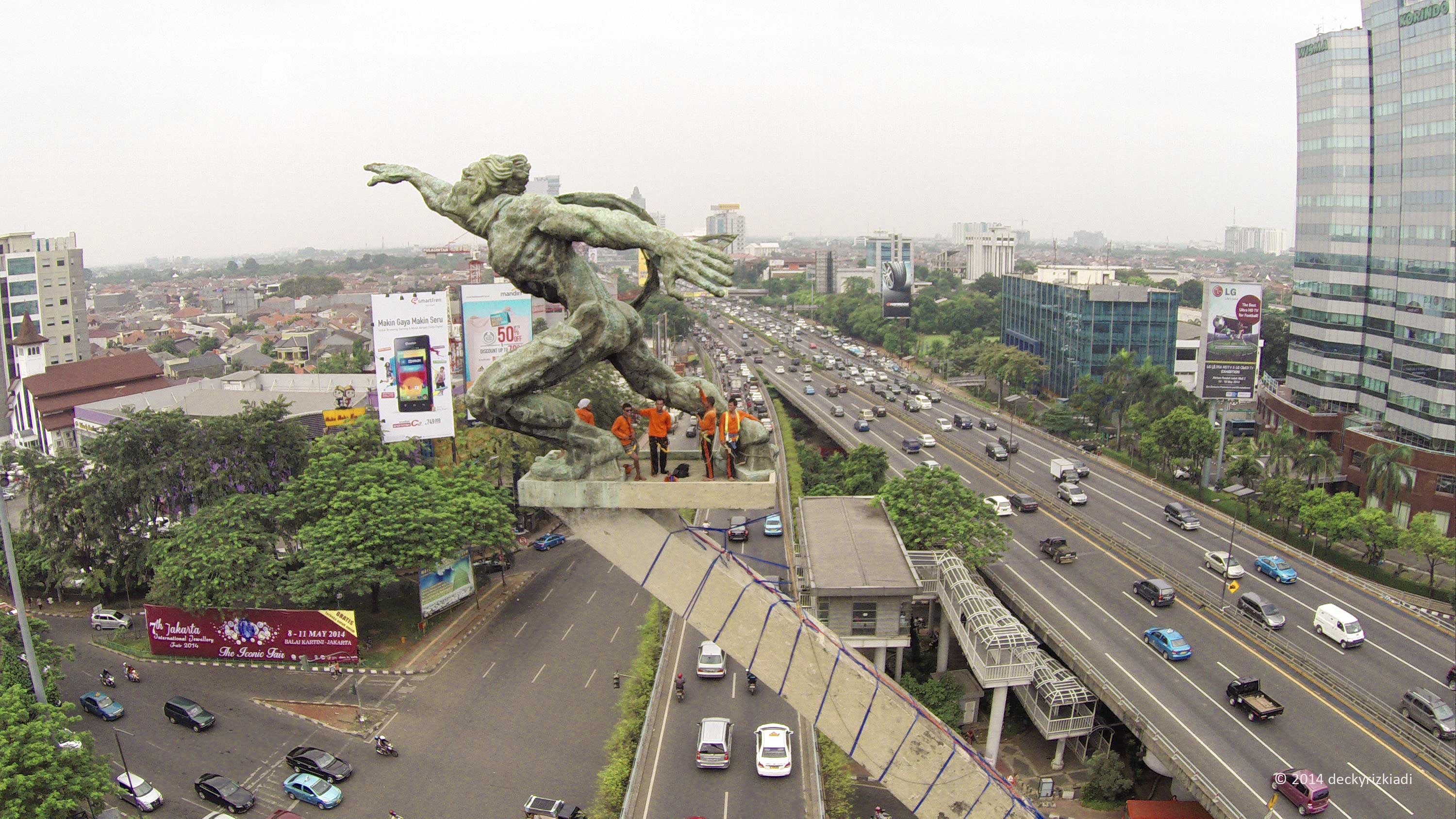 how to get to indonesia jakarta