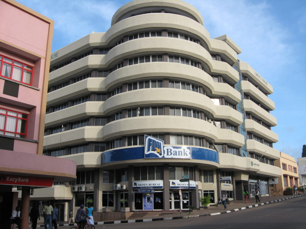 Ethiopian Airlines City Office In Lilongwe Malawi
