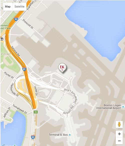 Emirates Airline Airport Office in Boston USA AirlinesAirports
