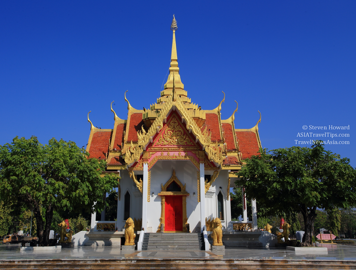 Thai Airways Royal Orchid Holidays Office In Ubon