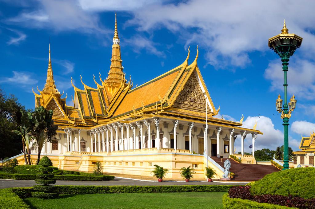 Korean Air Reservation Office In Phnom Penh  Cambodia