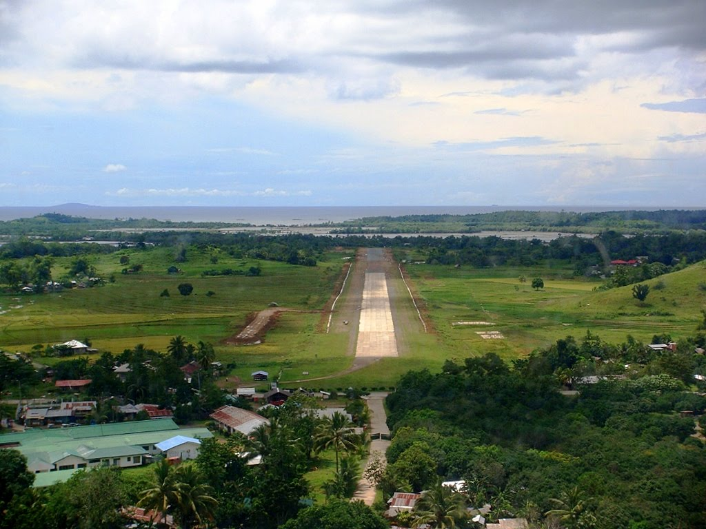 Dipolog City Philippine on airports and air travel