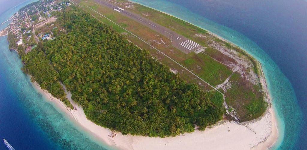 Maldivian Airline Airport Office In Dharavandhoo Maldives