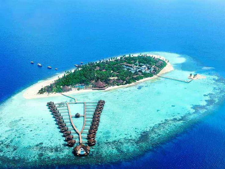 Maldivian Airline Ticket Office In Kaadedhdhoo Maldives
