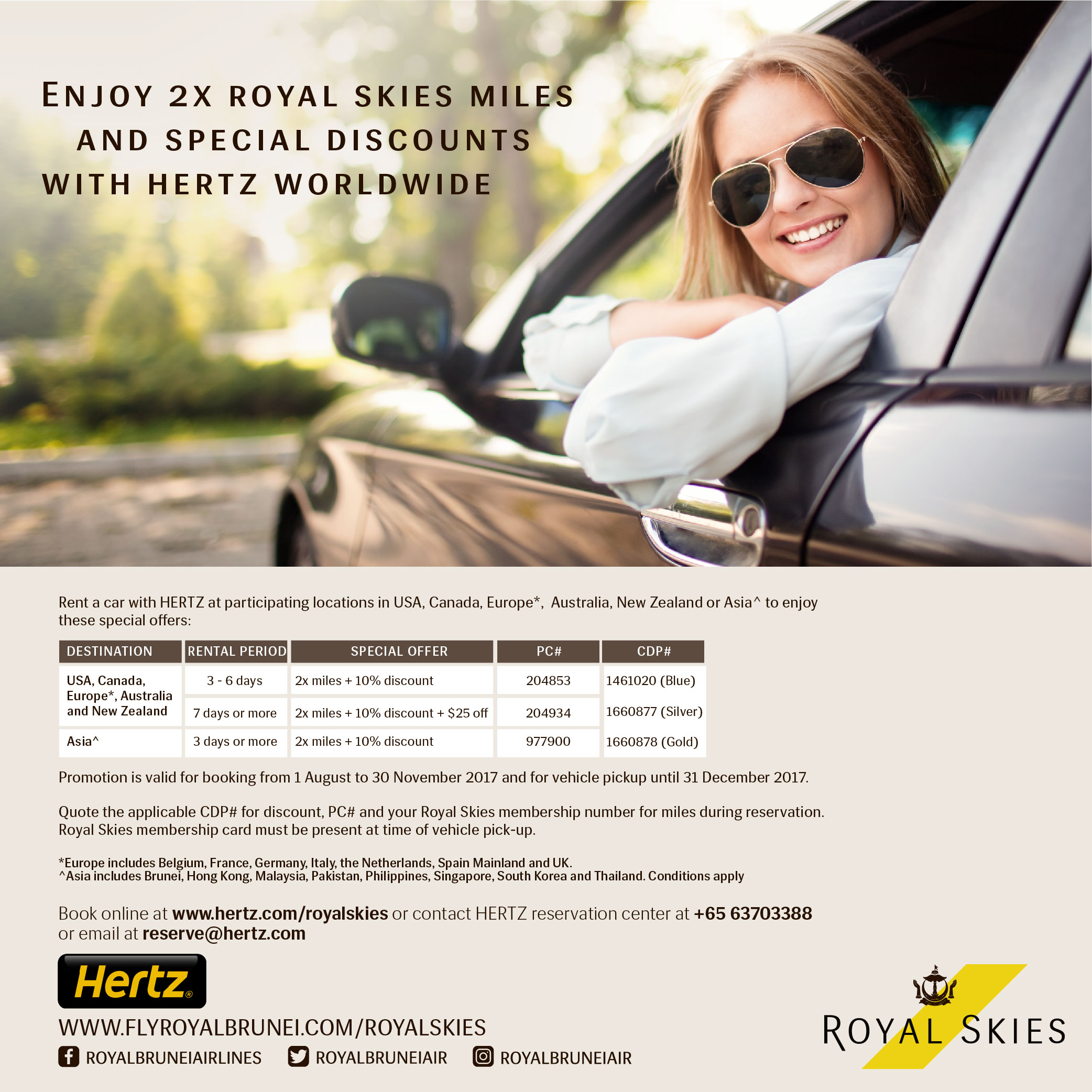 Royal-Brunei-Airlines-Hertz-Worldwide-Offer - Airlines-Airports