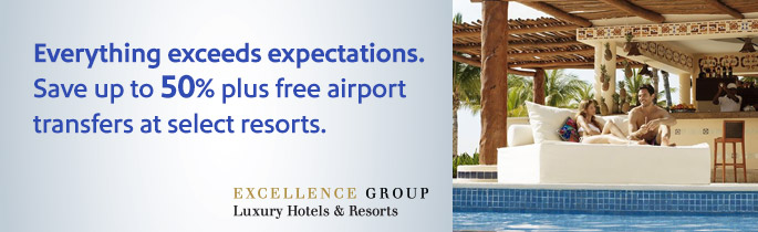 Southwest Airlines Save Up To 50 On Hotel Stays At Excellence Resorts Offer