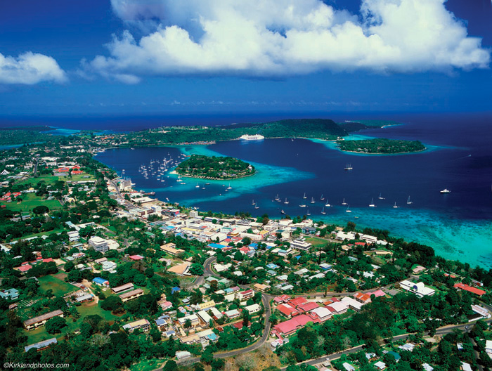 Port Vila Vanuatu on airports and air travel