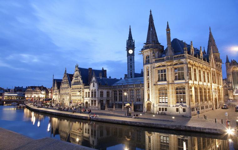 Benelux Belgium Airlines Airports