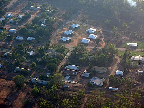 Garden Point Airport In Pularumpi Melville Island